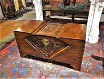 Antique  Chinese style trunk