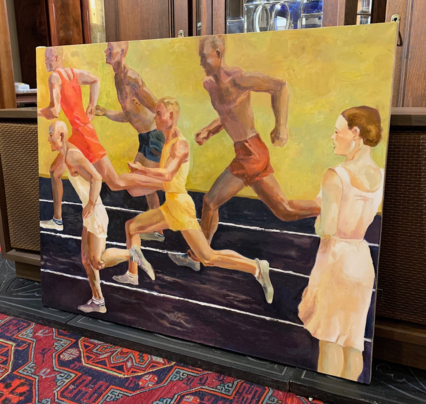 "Painting ""Runners"""