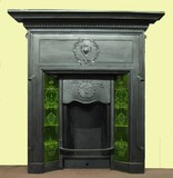 Antique Edwardian Fireplace