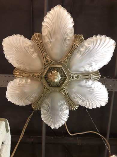 Antique Chandelier Art Deco