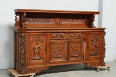 Antique Gothic sideboard