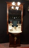 Antique boat washstand