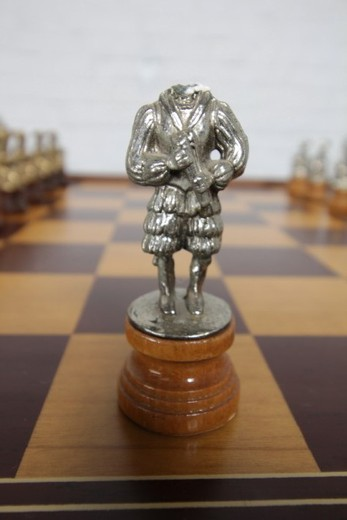 Antique Renaissance chess set