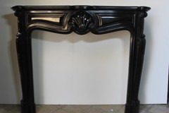 Antique Louis XV style fireplace