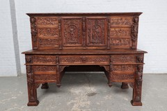 Antique renaissance desk