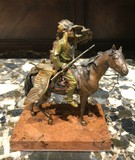 "Antique sculpture ""Native American hunter"""