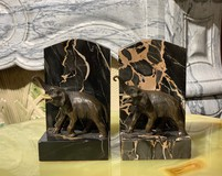 "Antique bookends ""Elephants"""