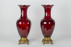 "Antique vases ""Baccarat"""
