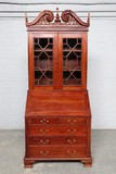 Antique English style secretary desk