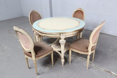 Antique Louis XVI dining room set