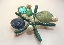 Vintage «starfish brooch»