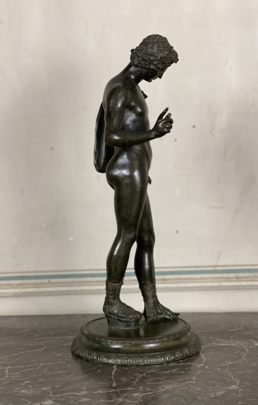 "Antique sculpture ""Narcissus"""