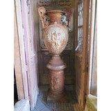 Antique Empire era vase on a base