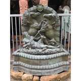 Antique Neptune garden fountain