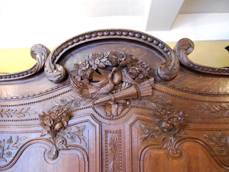 Antique Norman wedding wardrobe