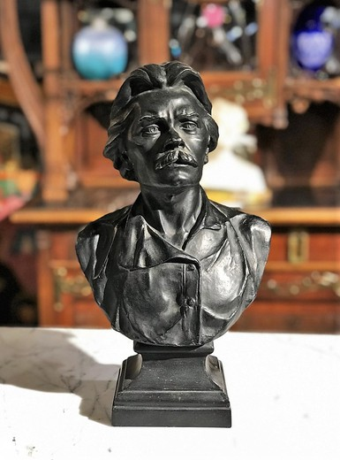 "Antique sculptural portrait ""Maxim Gorky"""