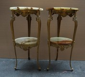 Antique pair tables