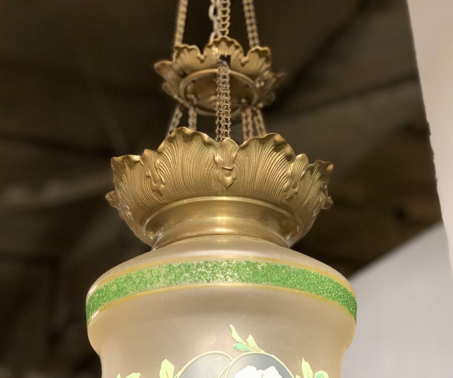 Antique ceiling light