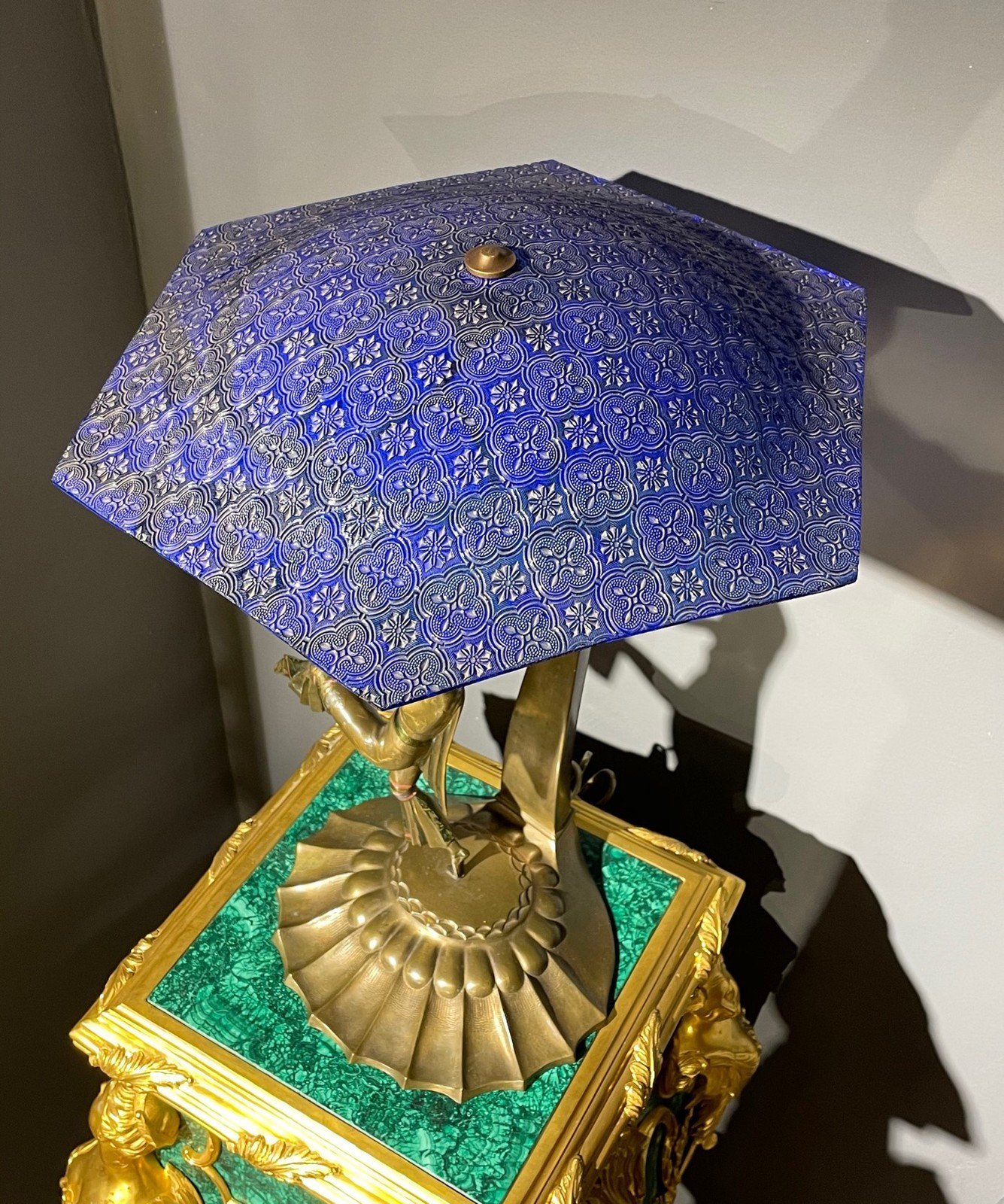 Antique table lamp