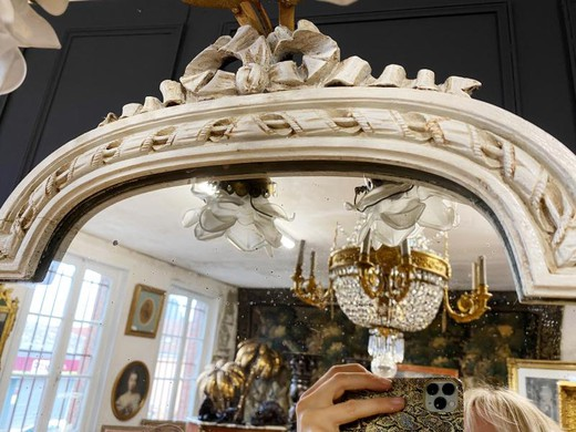 Antique mirror in the style of Napoleon III
