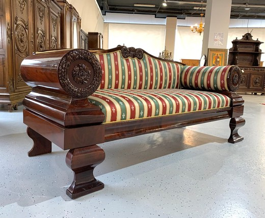Antique Biedermeier sofa