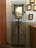 Antique art deco wall stand