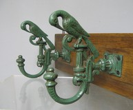 Antique hall tree art nouveau style