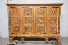 Antique Renaissance style wardrobe