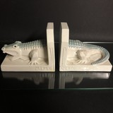 Pair antique bookends