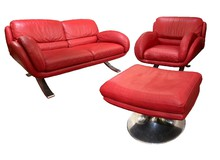 vintage sofa set Contempo