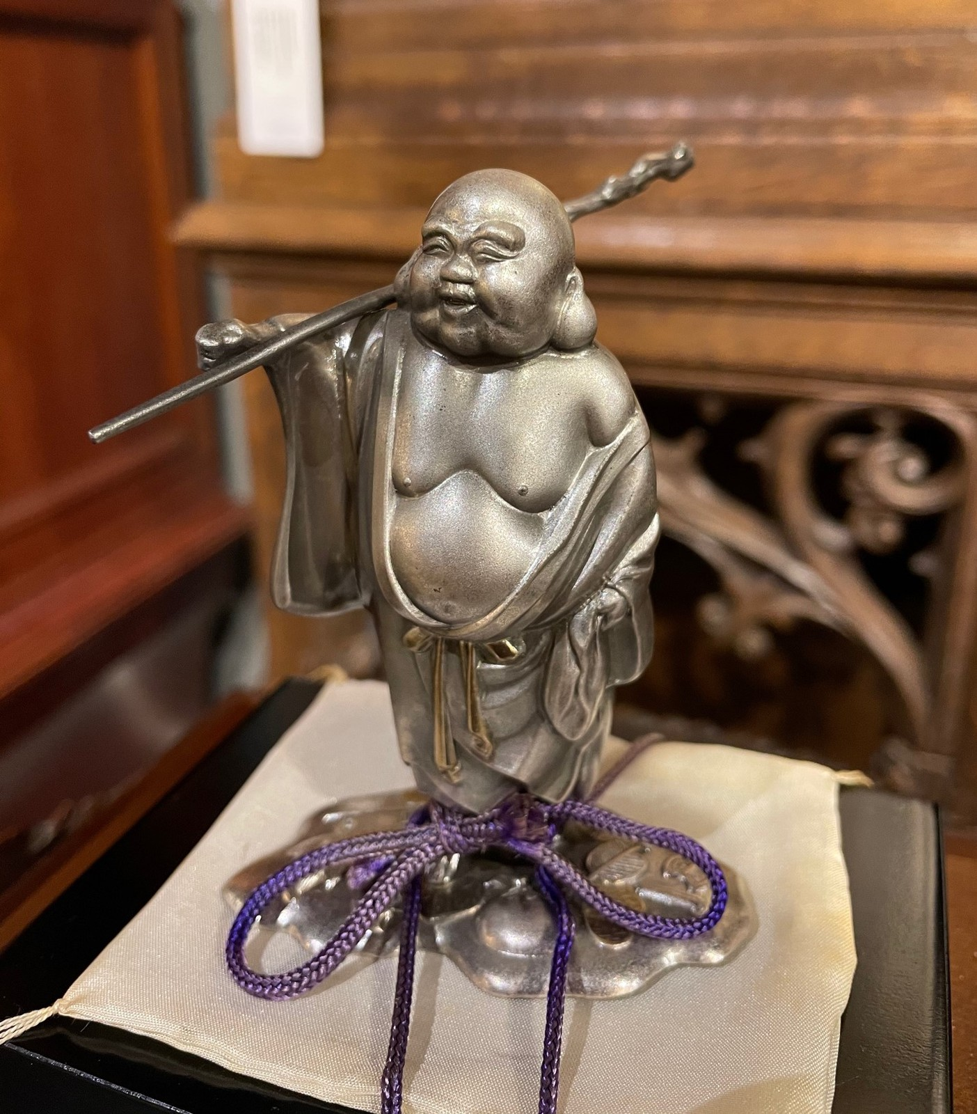 "Antique sculpture ""Hotei"""