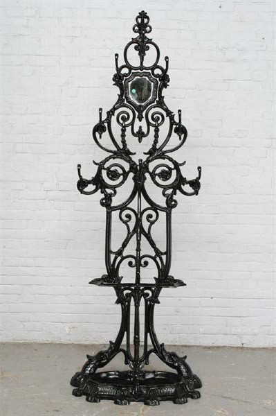 BersoАнтик Old Cast Iron Coat Rack