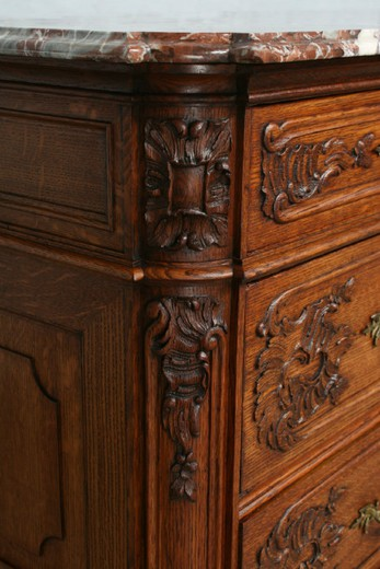 antique liege chest of drawers