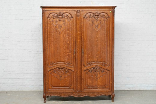 Antique liege cabinet