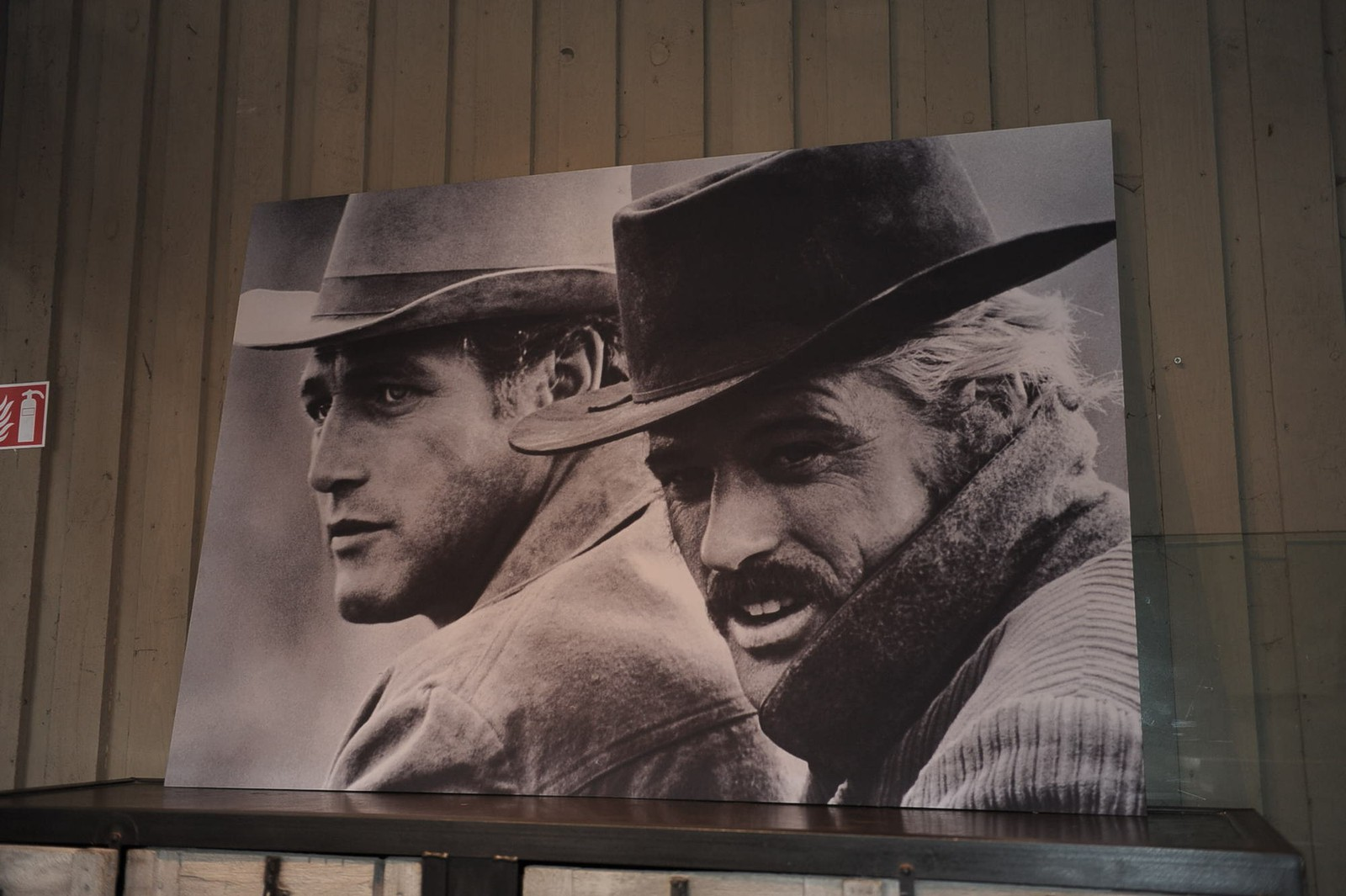 Redford & Newman printed picture