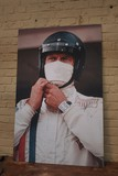 Steve McQueen printed picture