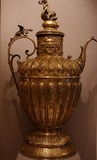 Antique bronze jar 19th C from Flanders
