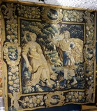 "Antique tapestry ""Engagement"""