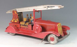 fire engine and fire - fighters children toys