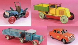 set of toy cars