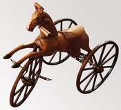 antique ride-on toy horse