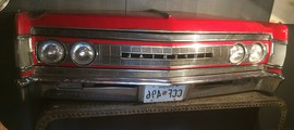 Antique Imperial car front 1960s