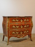 Marquetry Commode Louis XV Style
