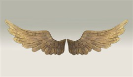 wooden wings vintage