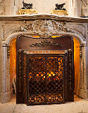fireplace insert antique