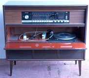 Stereo Cabinet antique