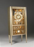 CABINET, BAR, ART BURL, Lam Lee