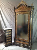 antique boulle wardrobe