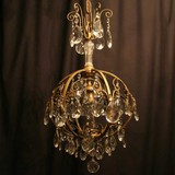 birdcage antique ceiling light