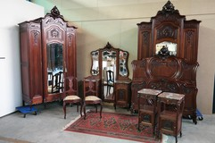 antique louis XV bedroom set